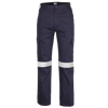 Picture of 100% Cotton Reflective Cargo Trousers