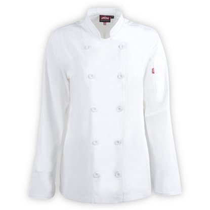 Picture of Versatex Women's Long Sleeve Chef Jacket